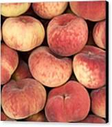 Peaches Canvas Print by Jane Rix