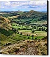 Peak District Canvas Print by Isabella F Abbie Shores FRSA