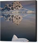 Peak On Wiencke Island Antarctic Canvas Print by Colin Monteath