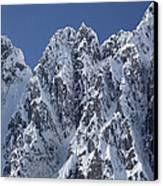 Peaks Of Takhinsha Mountains Canvas Print