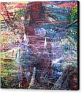 Pearl Od Thw Caribbean - La Perla Del Caribe Canvas Print by Miguel Conesa Osuna