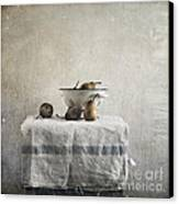 Pears Under Grunge Canvas Print