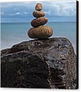 Pebble Sculpture Canvas Print