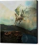 Pegasus Flying Horse Canvas Print