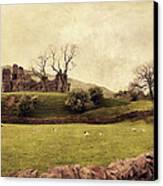 Pendragon Castle Canvas Print