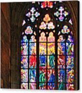 Pentecost Window - St. Vitus Cathedral Prague Canvas Print