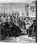 Peru: Theater, 1869 Canvas Print