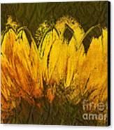 Petales De Soleil - A43t02b Canvas Print by Variance Collections