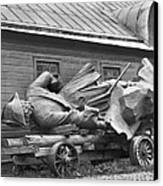 Peter The Great, Resting On A Wagon Canvas Print by Maynard Owen Williams