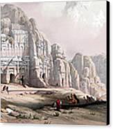 Petra  Canvas Print by Munir Alawi