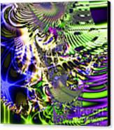 Phantasm . Square Canvas Print by Wingsdomain Art and Photography