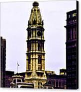 Philadelphia City Hall Tower Canvas Print
