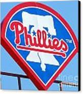 Phillies Logo Canvas Print