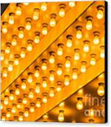 Picture Of Theater Lights Canvas Print by Paul Velgos