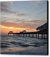 Pier 60 Clearwater Beach Florida Canvas Print