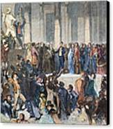 Pierce Inauguration Canvas Print by Granger