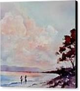 Pink Dawn Canvas Print by Bobbi Price