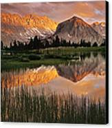 Pioneer Basin Canvas Print by Buck Forester