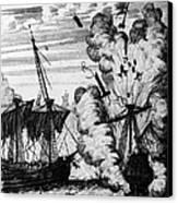 Pirate Ships Canvas Print