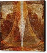 Pistil Canvas Print by Christopher Gaston