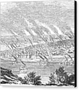 Pittsburgh, 1855 Canvas Print