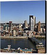 Pittsburgh Panoramic Canvas Print