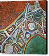 Place The Bet Ameri-go-round  Canvas Print by Shadrach Ensor
