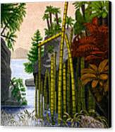 Plants Of The Triassic Period Canvas Print by Science Source
