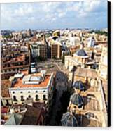 Plaza De La Virgen Canvas Print