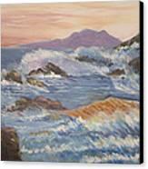 Point Reyes Storm Canvas Print by Al Steinberg