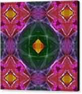 Polychromatic Arabesque Canvas Print