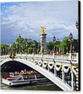 Pont Alexander IIi Canvas Print by Elena Elisseeva