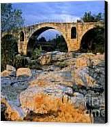 Pont Julien. Luberon. Provence. France. Europe Canvas Print