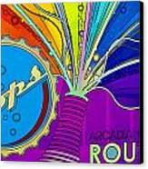 Pops IIi Canvas Print by Malania Hammer