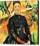 Portrait Madame Cezanne Canvas Print by Pg Reproductions