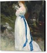 Portrait Of Lise   Canvas Print