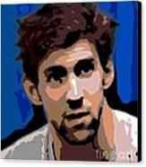 Portrait Of Phelps Canvas Print