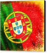 Portugal Flag  Canvas Print by Setsiri Silapasuwanchai