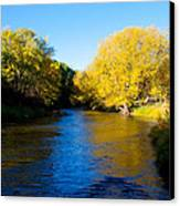 Poudre River Canvas Print