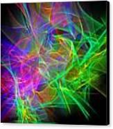 Power Of The Climax 3 Canvas Print by Cyryn Fyrcyd