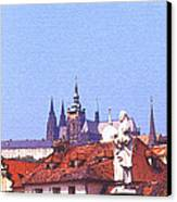 Prague Castle Canvas Print by Steve Huang