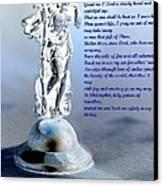 Prayer To St Christopher Canvas Print