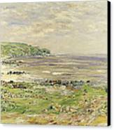 Preaching Of St. Columba Iona Inner Hebridies Canvas Print by William McTaggart