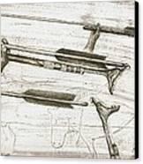 Prehistoric Spear-thrower Canvas Print