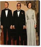 President And Rosalynn Carter Canvas Print by Everett
