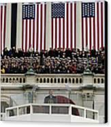 President George W. Bush Makes Canvas Print by Stocktrek Images