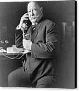 President William Taft 1857-1930 Using Canvas Print by Everett