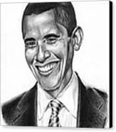 Presidential Smile Canvas Print by Jeff Stroman