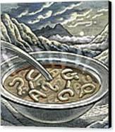 Primordial Soup Canvas Print by Bill Sanderson