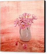 Primroses D'orange Canvas Print by Linde Townsend
